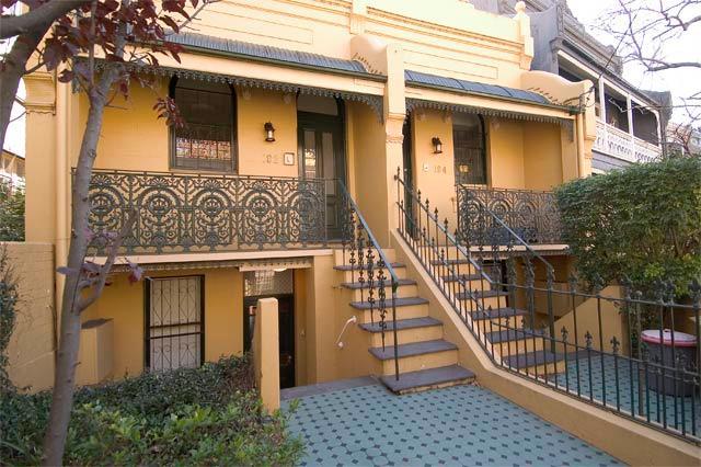 "Front Entrance doors - ""Glenmore Paddington"", Lower unit. Sydney Austra - Sydney - rentals"