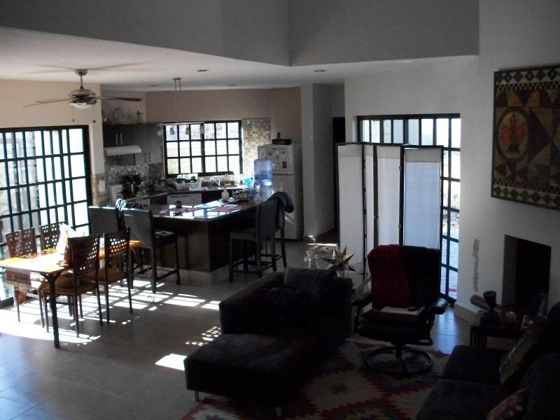 Dining, Living, Kitchen - Contemporary Home Just Outside San Miguel Allende - San Miguel de Allende - rentals