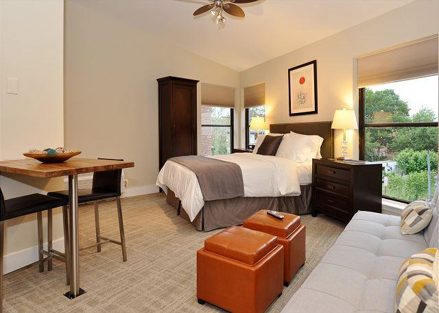 Large newly renovated studio - DuPont Circle-Adams Morgan Large Studio-Kitchenette, Parking, Metro 3 blks - Washington DC - rentals