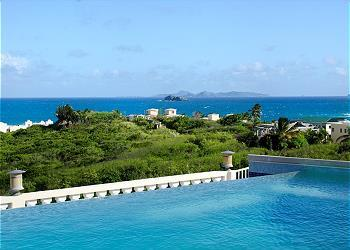 Villa Star... Red Pond Estates, St Maarten 800 480 8555 - VILLA STAR... 3 BR in Red Pond Estates, breathtaking ocean views, St Maarten - Dawn Beach - rentals