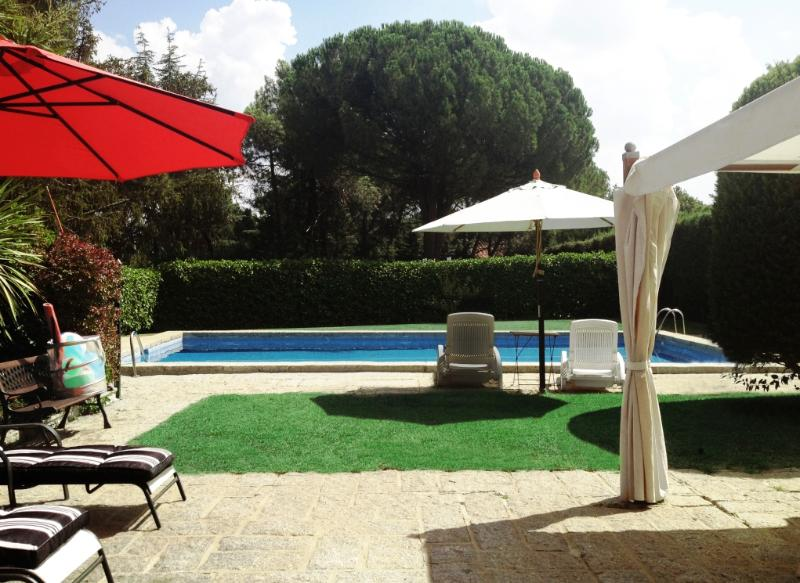 View from living room - House with private pool and garden near Madrid! - Galapagar - rentals