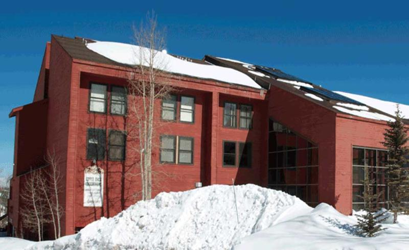 Exterior of Complex. Amazing Snow in the winter! - Ski In/Out Condo - 1 bedroom luxury on the slopes! - Brian Head - rentals