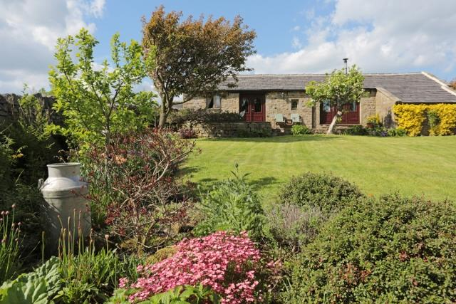 The Old Dairy Cottage Garden - The Old Dairy Cottage near Harrogate - Timble - rentals