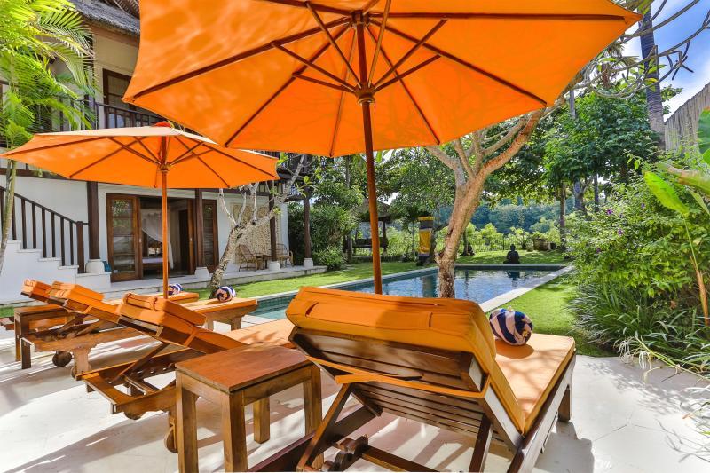 Sun bed during daytime - Villa Yasmine- Luxurious 3 BR Villa Jimbaran Beach - Jimbaran - rentals