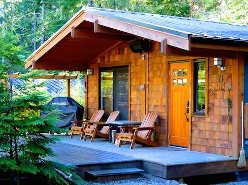 Port Renfrew cozy cottage rental - Handsome Dan's Wild Coast Guest Cottages - Port Renfrew - rentals