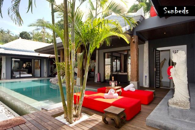 Relaxing on the Pooldeck - LUXURY, DESIGN, BEST LOCATION, BOPHUT HILLS - Bophut - rentals