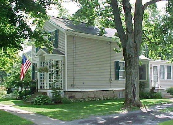 Side View of Home - Beautiful Home in the Finger Lakes Region, NY - Skaneateles Lake - rentals