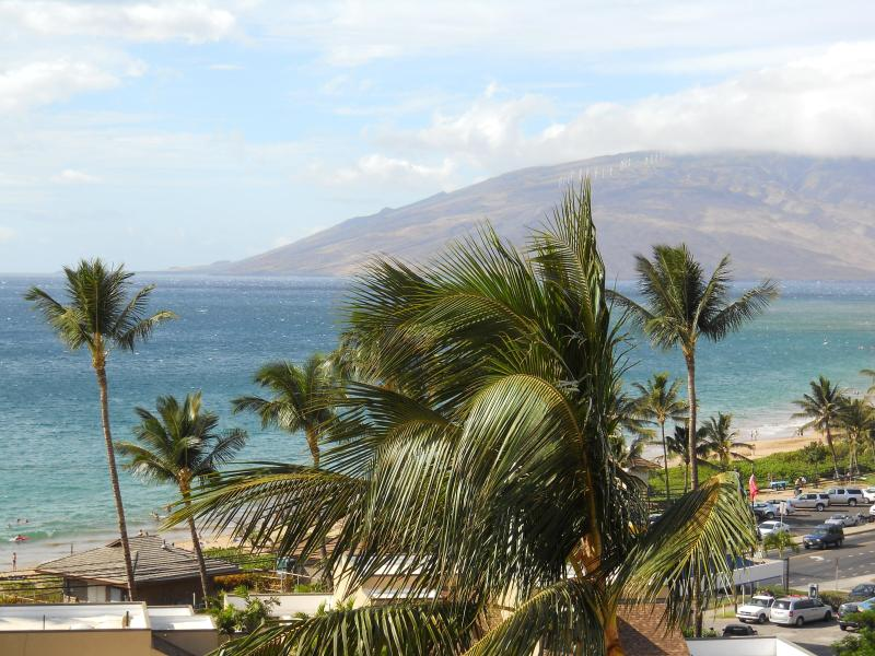 View from 7th Floor Deck - Kamaole Beach Royale 1 Bedroom Seaviews - Kihei - rentals