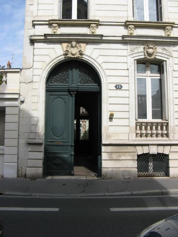 Front building - Tours Hypercentre Theatre Label ***Gites de France - Tours - rentals