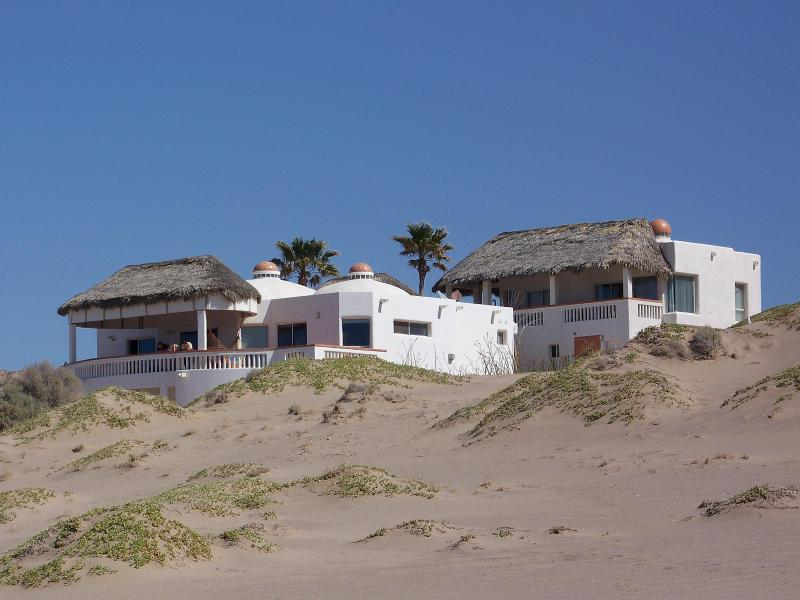 OUR HOME FROM THE BEACH - #1 RATED BEACHFRONT HOME 1 HR SOUTH OF PP - Puerto Penasco - rentals