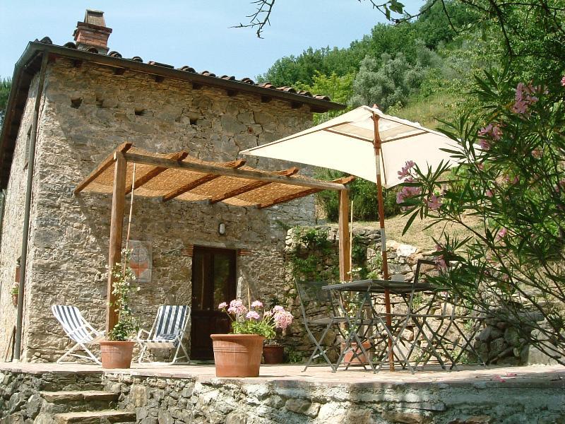 La Stalla Terrace - Borgo della Madonnina, Lucca, Tuscany, Italy - Pescaglia - rentals