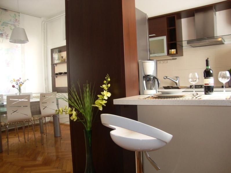 Kitchen&Dining Room - ATRIUM PLAZA ZAGREB-main square - Zagreb - rentals