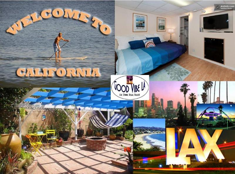 Good Vibe Welcomes You To LA! - GoodVibeStudio+VeniceBch+LAX+Bikes+Wifi+Cable - Los Angeles - rentals