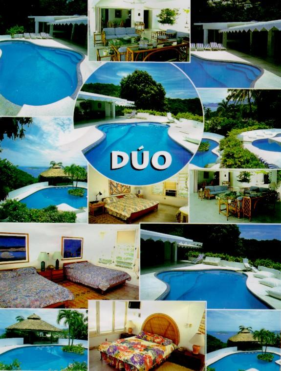 GENERAL VIEW OF THE VILLA - COME TO THIS TROPICAL PARADISE WITH SIX BEDROOMS, TWO POLES,ARTIFICIAL CASCADE AND ENORMOUS SOCIAL AREA. - Acapulco - rentals