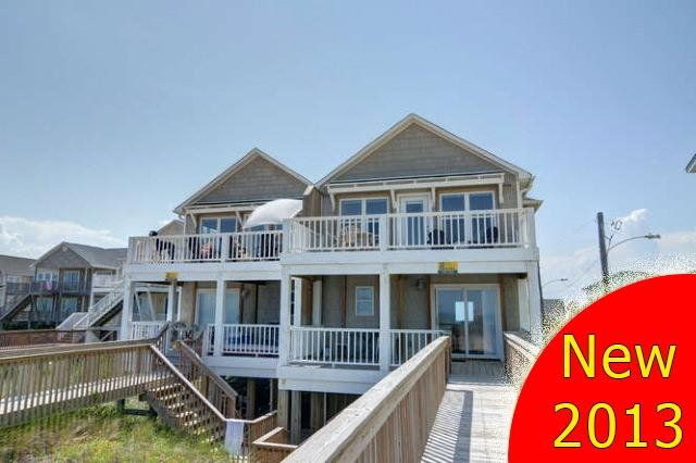 From the beach - N. Topsail Dr. 826-C -4BR_SFH_OFB_18 - Surf City - rentals