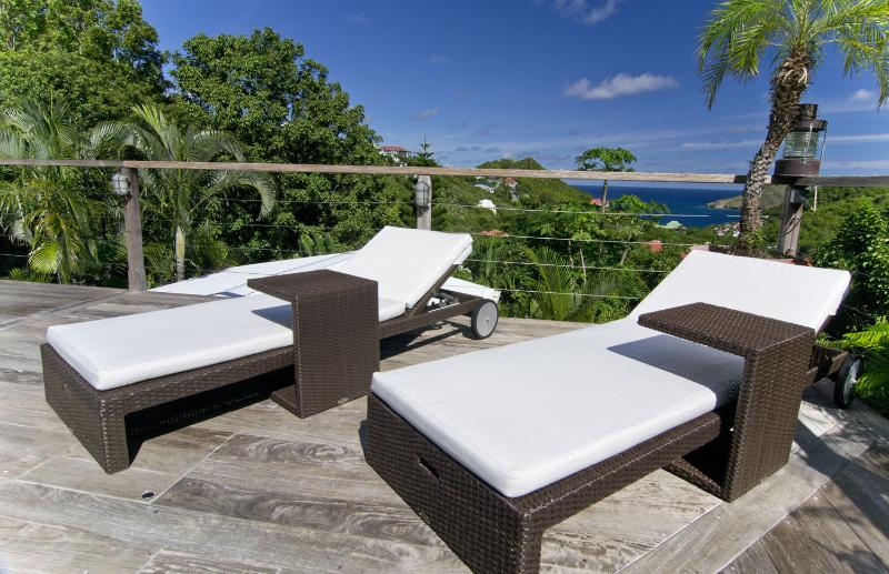 St barts villa rental - Villa White and Blue - Villa White and Blue - Saint Barts - Flamands - rentals