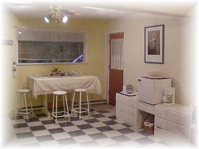Breakfast Area - Evergreen Gardens B&B - Port Hardy - rentals