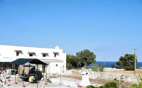 Garden - Fresh Tranquil cottage in forest 100 mt from sea - Porto Badisco - rentals
