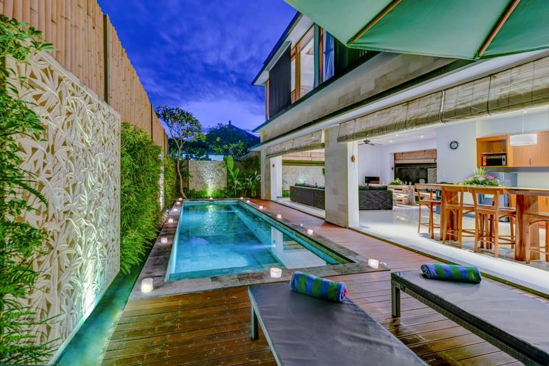 pool - Villa Taksu Dua Legian - Denpasar - rentals