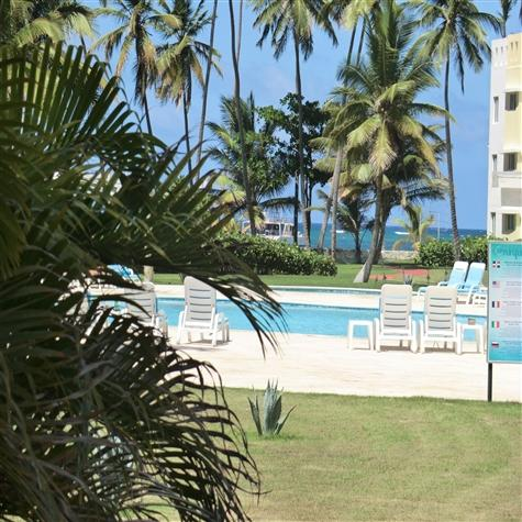 Steps to the ocean in Playa Turquesa 2BR condo - Image 1 - Punta Cana - rentals