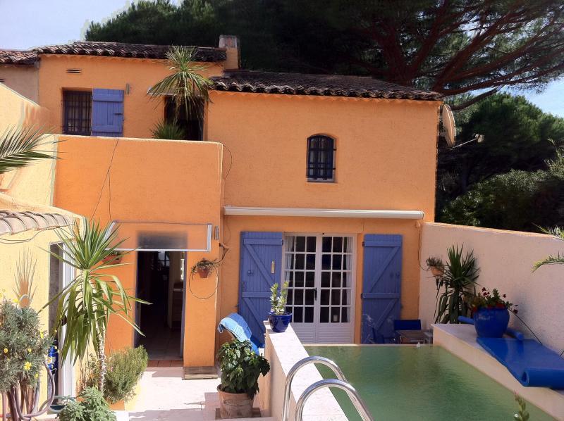 Patio with little Pool - Saint-Tropez Beach Pampelonne Vacation Rental, Sleeps 6 - Ramatuelle - rentals
