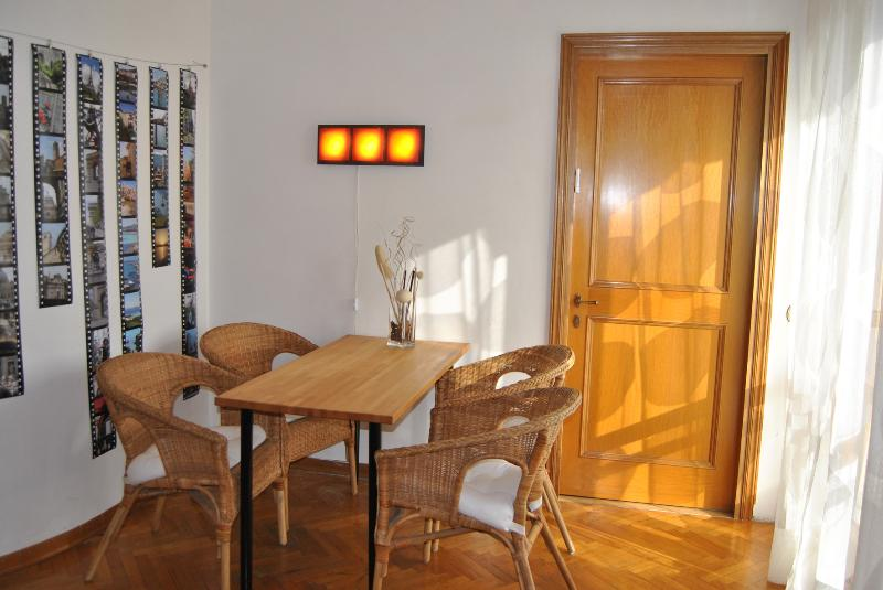Dining area - Ginevra's apartment with balcony - Florence - rentals