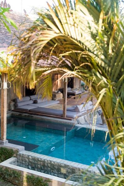 Kura Kura pool and veranda - Kura Kura retreat, meet the real Bali. An authentic adventure, a family cottage or villa. - Bali - rentals