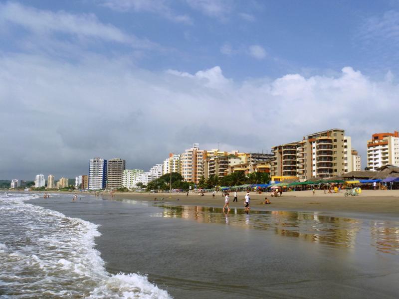 Unique and beautiful beach penthouse in Tonsupa - Image 1 - Esmeraldas - rentals
