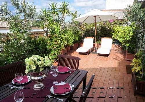Perfect Luxury Penthouse-Huge Terrace-Sunny Fresco - Image 1 - Rome - rentals