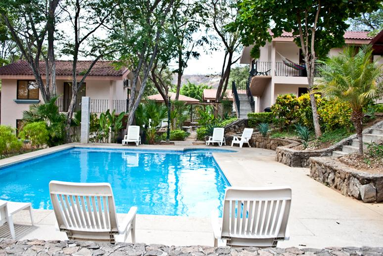 Pool View - 2 bedroom convenient location San Angel # 06 - Playas del Coco - rentals