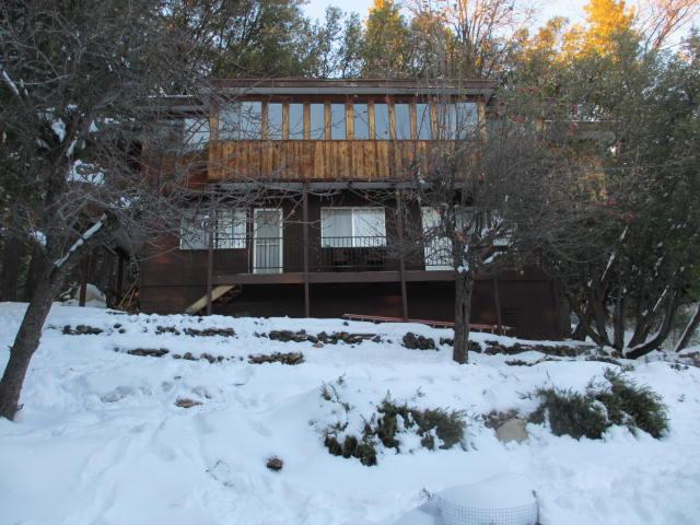 Back Yard 12/2013 - Twain Harte Retreat with Private Lake/WIFI - Twain Harte - rentals
