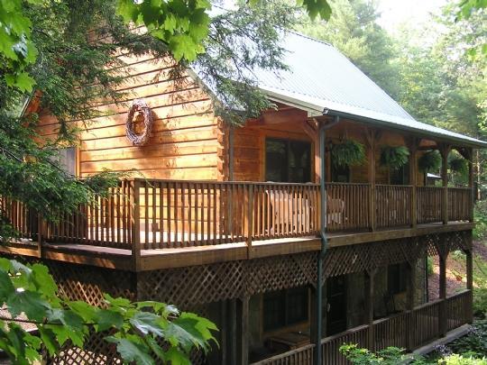 Peak-A-Boo Creek - Peak-A-Boo Creek-4br, 2.5ba,Hot tub, Pool Table, creek - Jefferson - rentals
