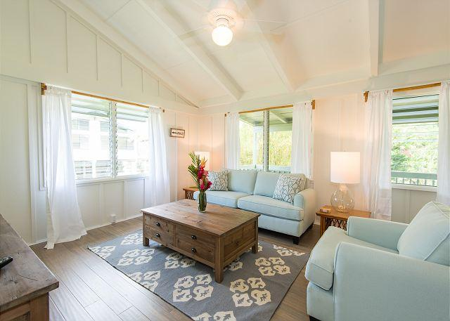 10% off May & June!! Super Cute Home - Walk to the Beach and Town! - Image 1 - Hanalei - rentals