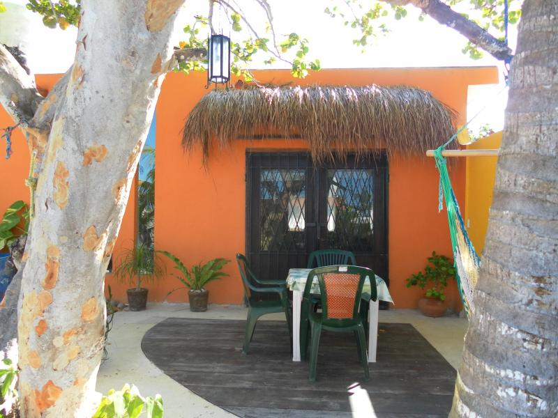 relax on back deck - Private Paradise - Chelem - rentals