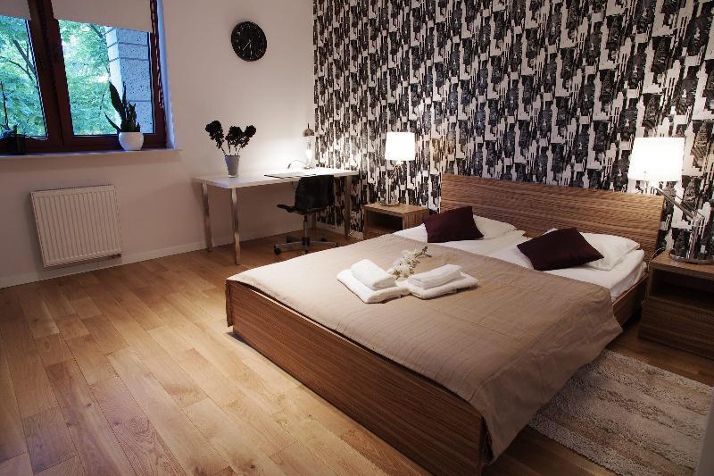 bedroom - Apartment Fabryczna - Poland - rentals