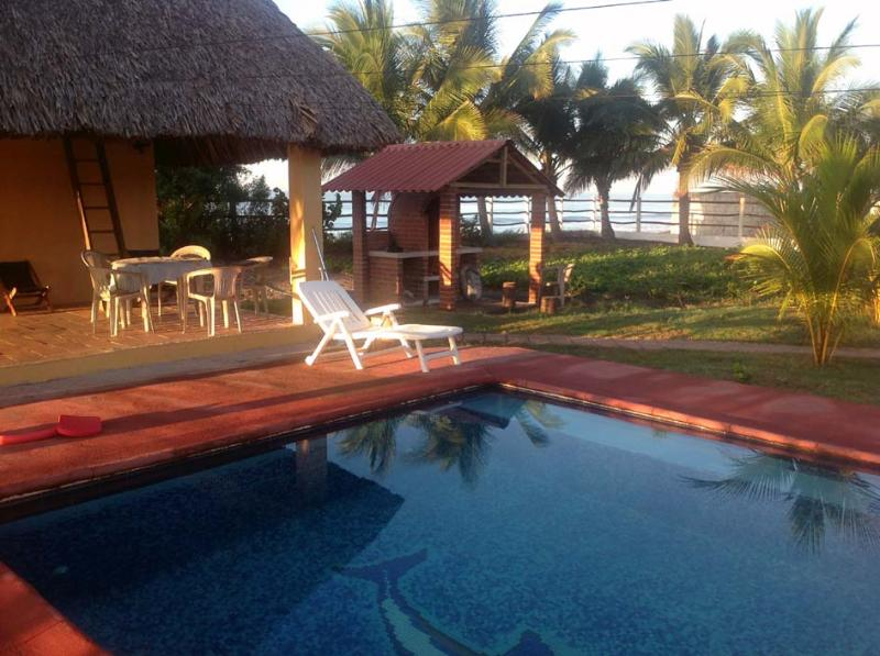 Pool and BBQ - Beach Bungalow on the Pacific Coast of Guatemala - Hawaii - rentals
