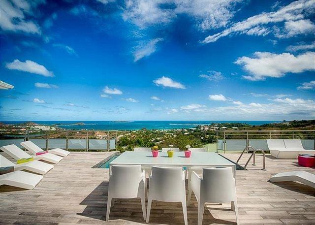Topaze - Newly Renovated 3 Bedroom, 3 Bathroom Villa overlooking Orient Bay - Image 1 - Saint Martin-Sint Maarten - rentals