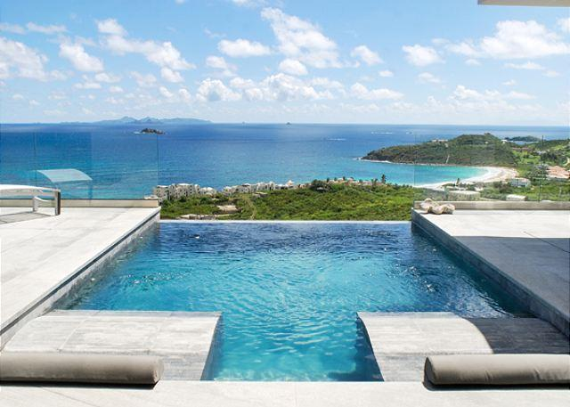 Crystal - Chic and modern 3 Bedroom villa with amazing views of the ocean! - Image 1 - Saint Martin-Sint Maarten - rentals