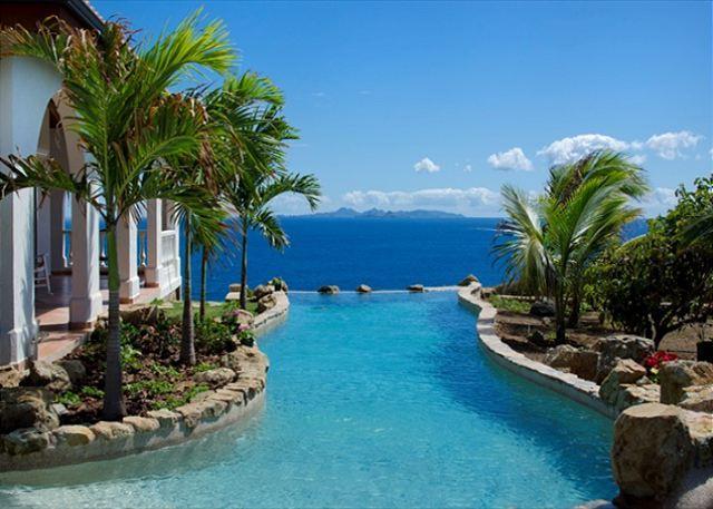 Beautiful 4 Bedroom Villa with amazing views! - Image 1 - Saint Martin-Sint Maarten - rentals
