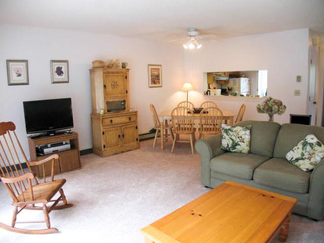 Living Area - Ocean Edge Townhouse - 2 BR, 1 1/2 bath & 4 Pool Passes (fees apply) - BI0528 - Brewster - rentals