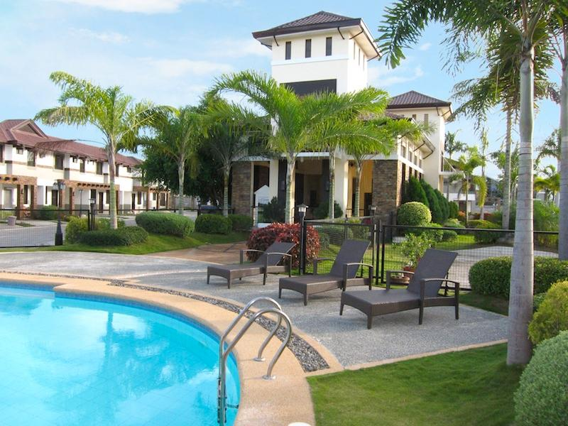 The Courtyards pool, with cabana and sunning areas. - Executive Townhouse at the Courtyards - Cagayan de Oro - rentals