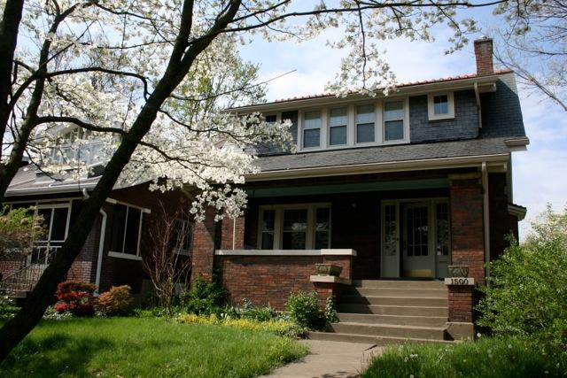 Front Outside - situated on a walking court - Comfortable 3bed/2bath Home - Highlands, Louisville - Louisville - rentals