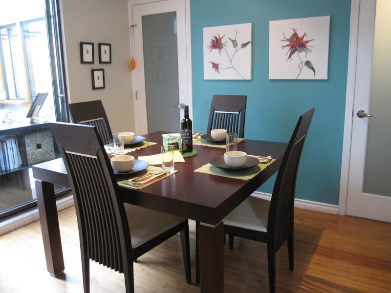 Dining area just off the kitchen. - Central Vancouver Home w/ peaceful 200sf Patio! - Vancouver - rentals