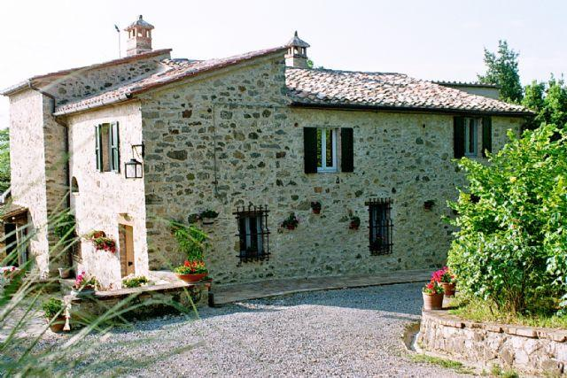 Etrusco - Large house with 11 sleeps - Image 1 - San Casciano dei Bagni - rentals