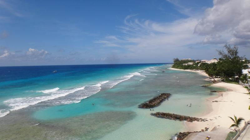 Dinning View - MODERN BEACHFRONT CONDO WITH AWESOME SEA VIEW!! - Hastings - rentals