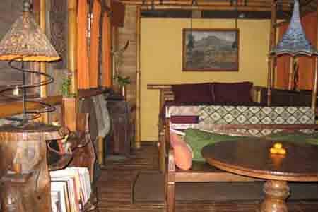 Bamboo Cottage Bedroom - Batu Belig Beach Bamboo Cottage - Pantai Cenang - rentals