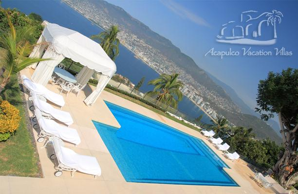 ACA - LORI4  Elegant master piece of traditional design at the top of the hill and above the bay - Image 1 - Acapulco - rentals
