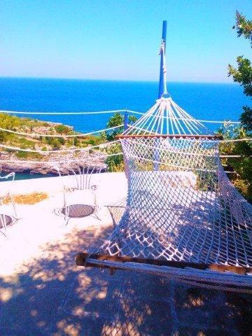 TERRACE - CASA GIRASOLI A ROMANTIC VILLA ON THE SEA - Marina Serra - rentals