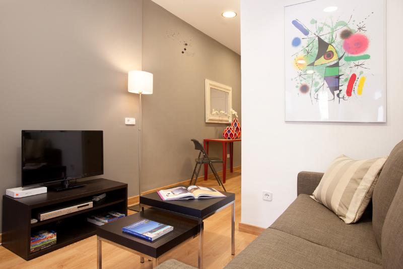 Living room - Sagrada Familia apartment - Barcelona - rentals