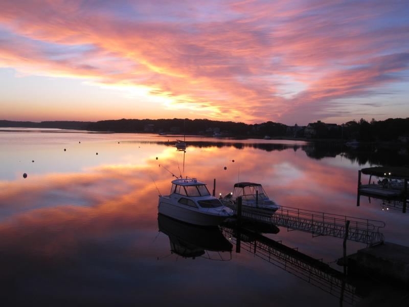 Sunrise From The Lawn - Quiet Island, Personal Beach and Dock on Property! - Mashpee - rentals